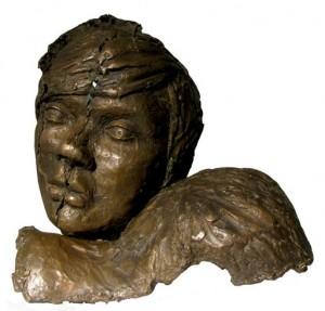 Broken Head | bronze