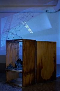 Crane | mixed media installation