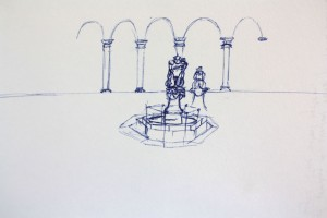Piazza Annunziata | pen