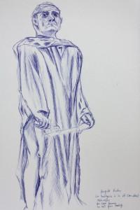 Rodin's Jean d'Aire | pen