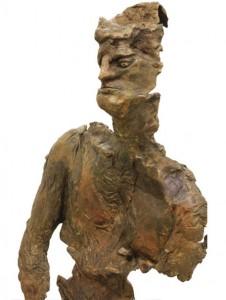 Standing Man (detail) | bronze